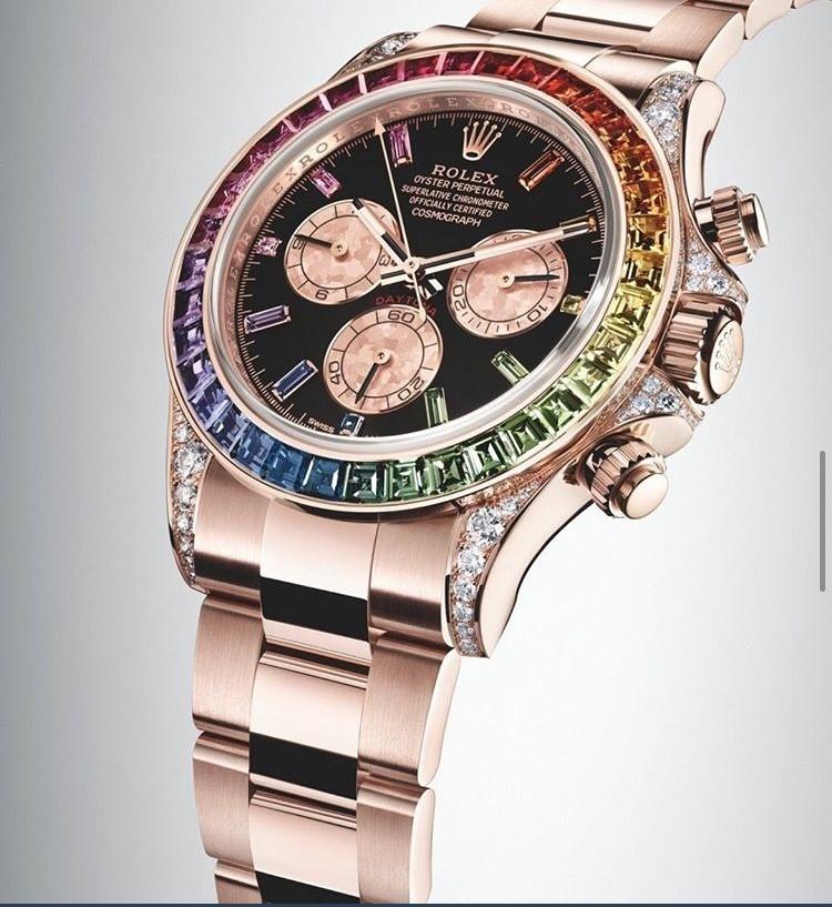 e9f2d8d154c A Rolex é pioneira no desenvolvimento de relógios de pulso desde 1905
